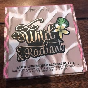 NIB wild + radiant BH cosmetics Baked palette